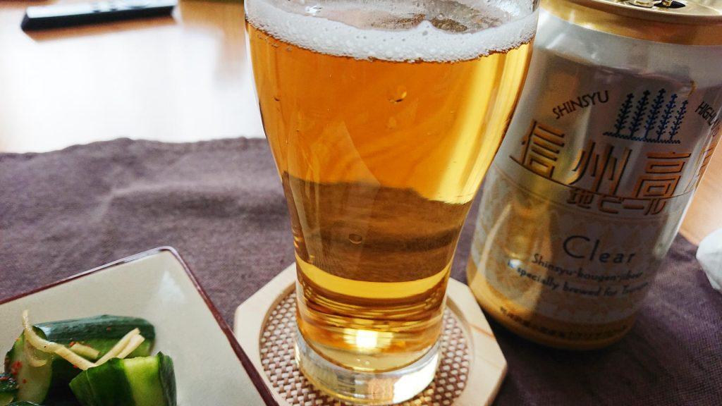 信州高原地ビール Clear