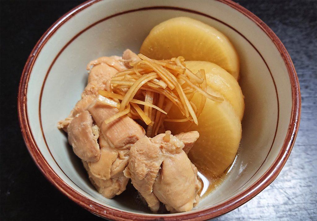 鶏モモ肉と大根の煮物 完成