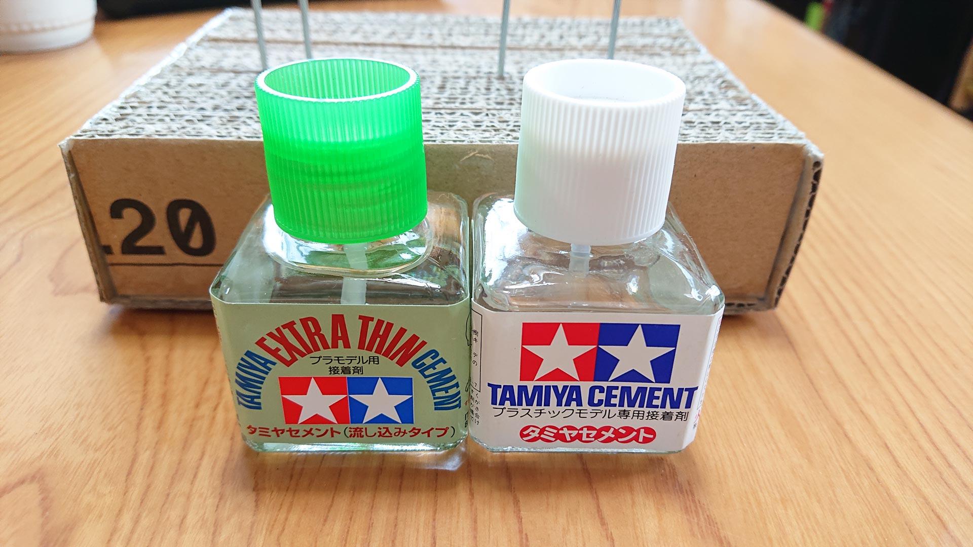 タミヤ樹脂系接着剤 タミヤ流し込み接着剤