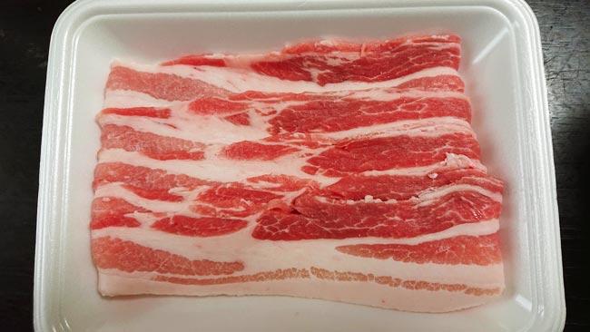 カナダ産豚バラ肉 130g