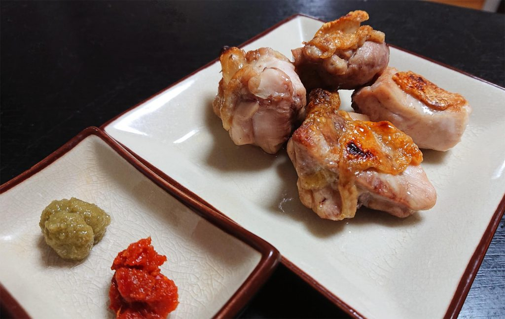 鶏もも肉のグリル焼き 完成