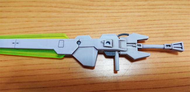 HG Gアルケイン 武器のウォッシング