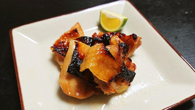 鶏モモ肉の幽庵焼き
