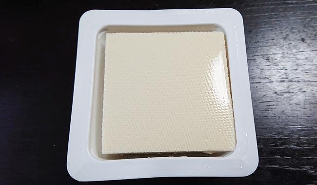 今回は木綿豆腐を使いました