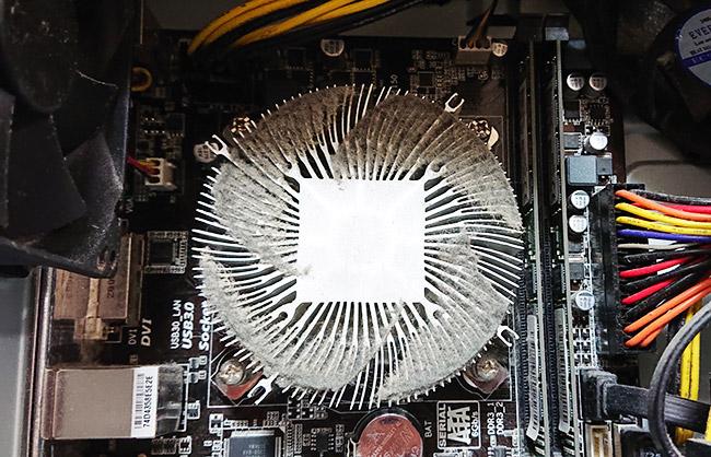パソコンの中身