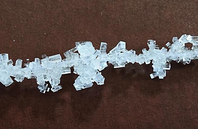 塩の結晶 完成