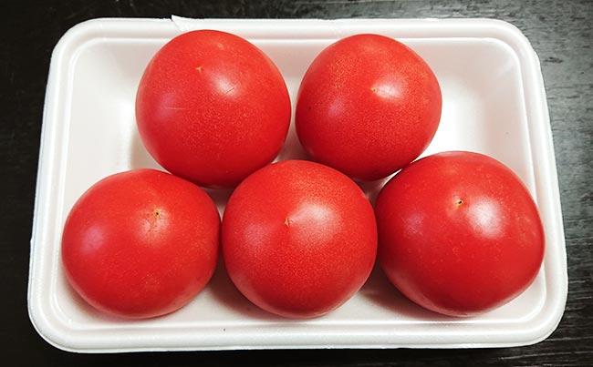 トマト5個
