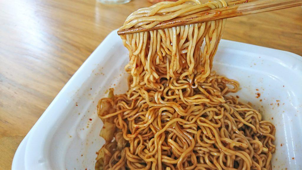 焼そばバゴォーン[BAGOOON]激辛味-実食