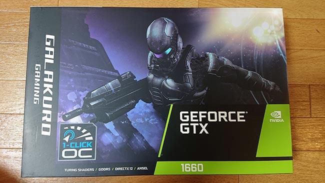 玄人志向 NVIDIA GeForce GTX 1660
